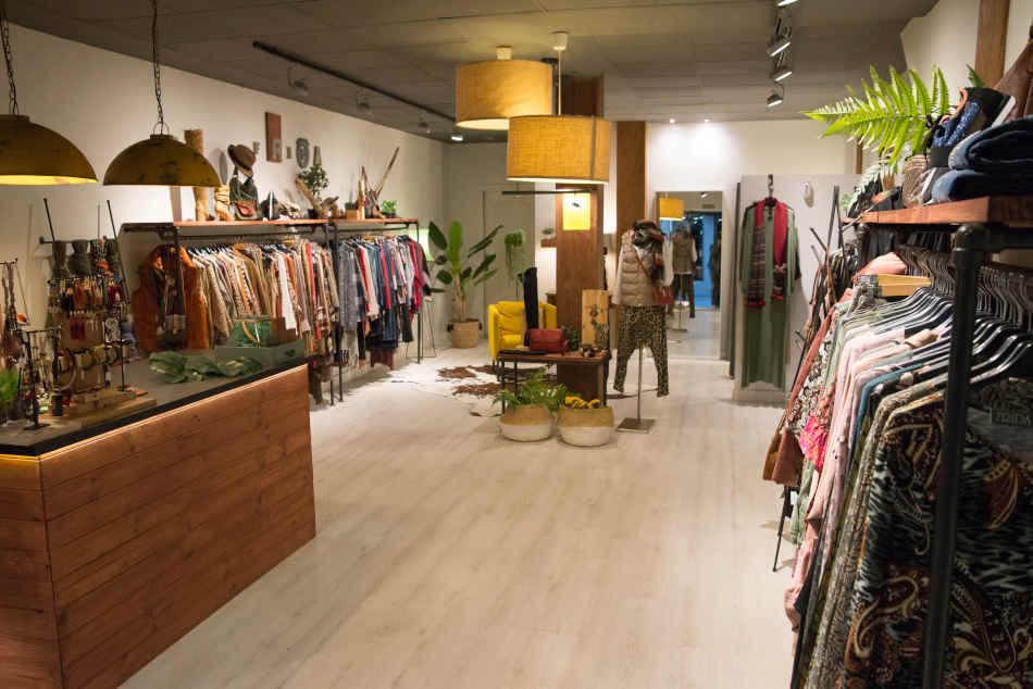 Interior tienda Frida Moda, Castro Urdiales